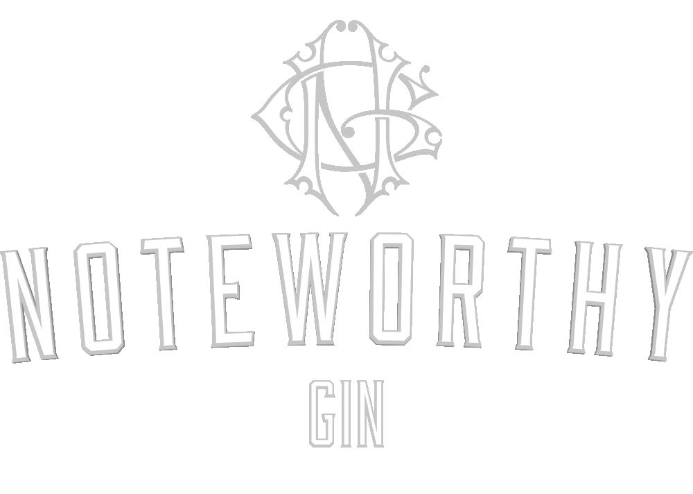 Branding Design for Dubh Glas Distillery's Noteworthy Gin