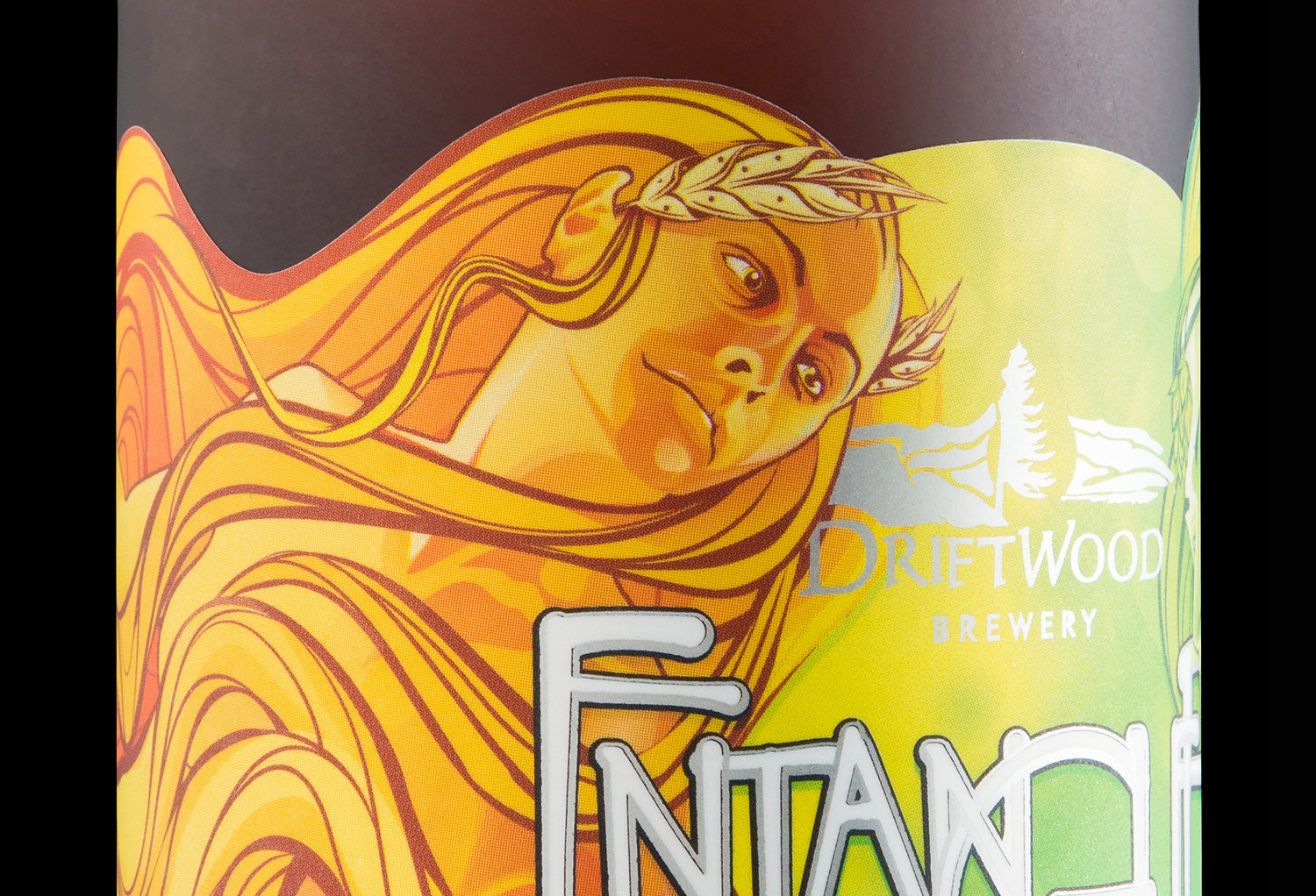 Packaging Design for Driftwood Brewery's Entangled Hopfenweisse