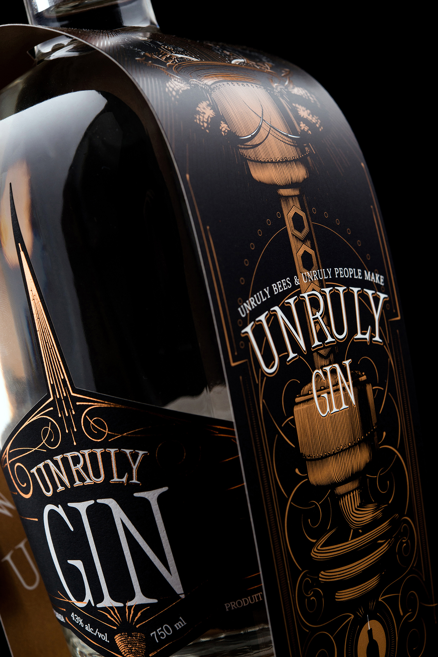 Branding and Packaging Design for Wayward Distillation House