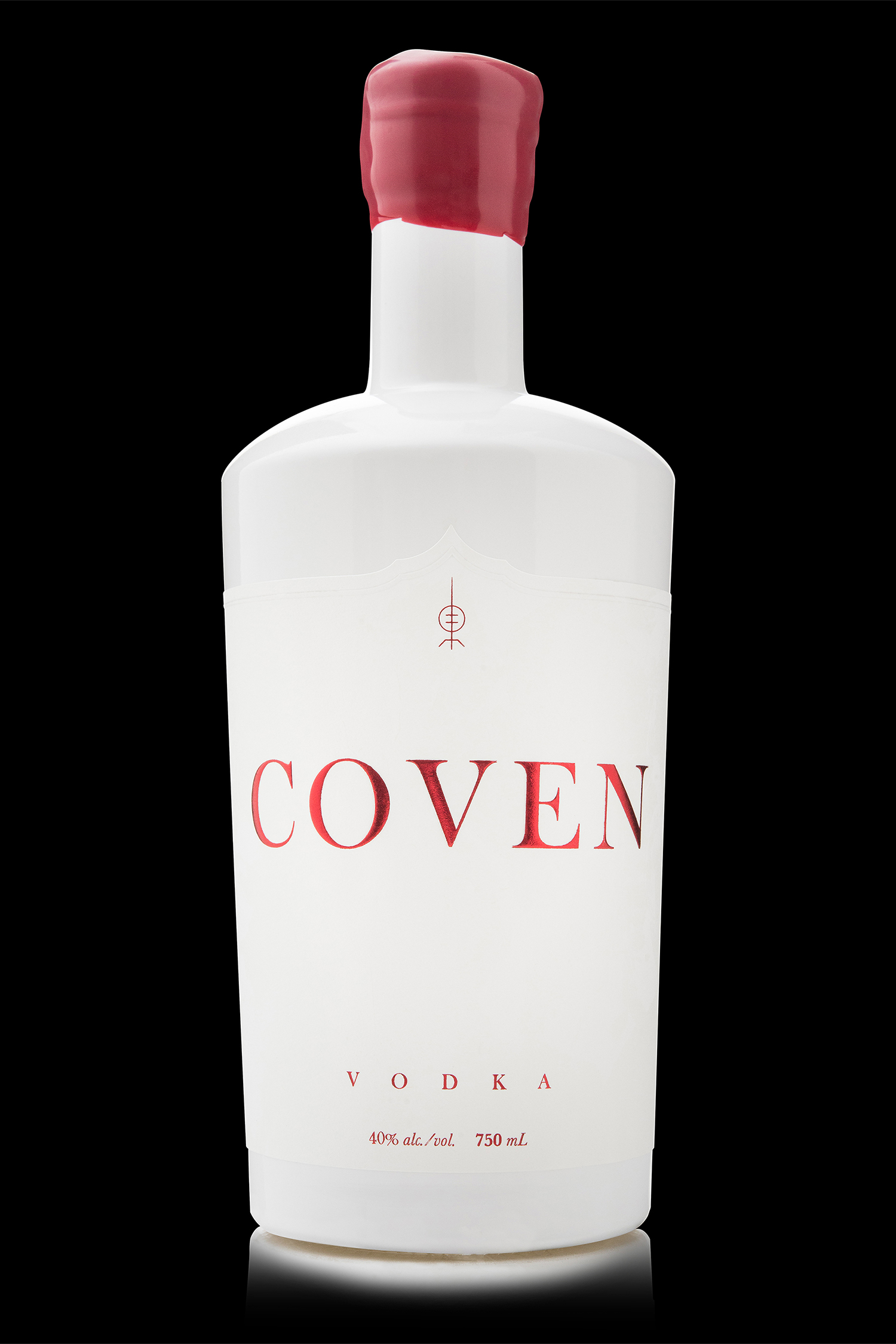 Packaging Design for Arbutus Distillery's Coven Vodka
