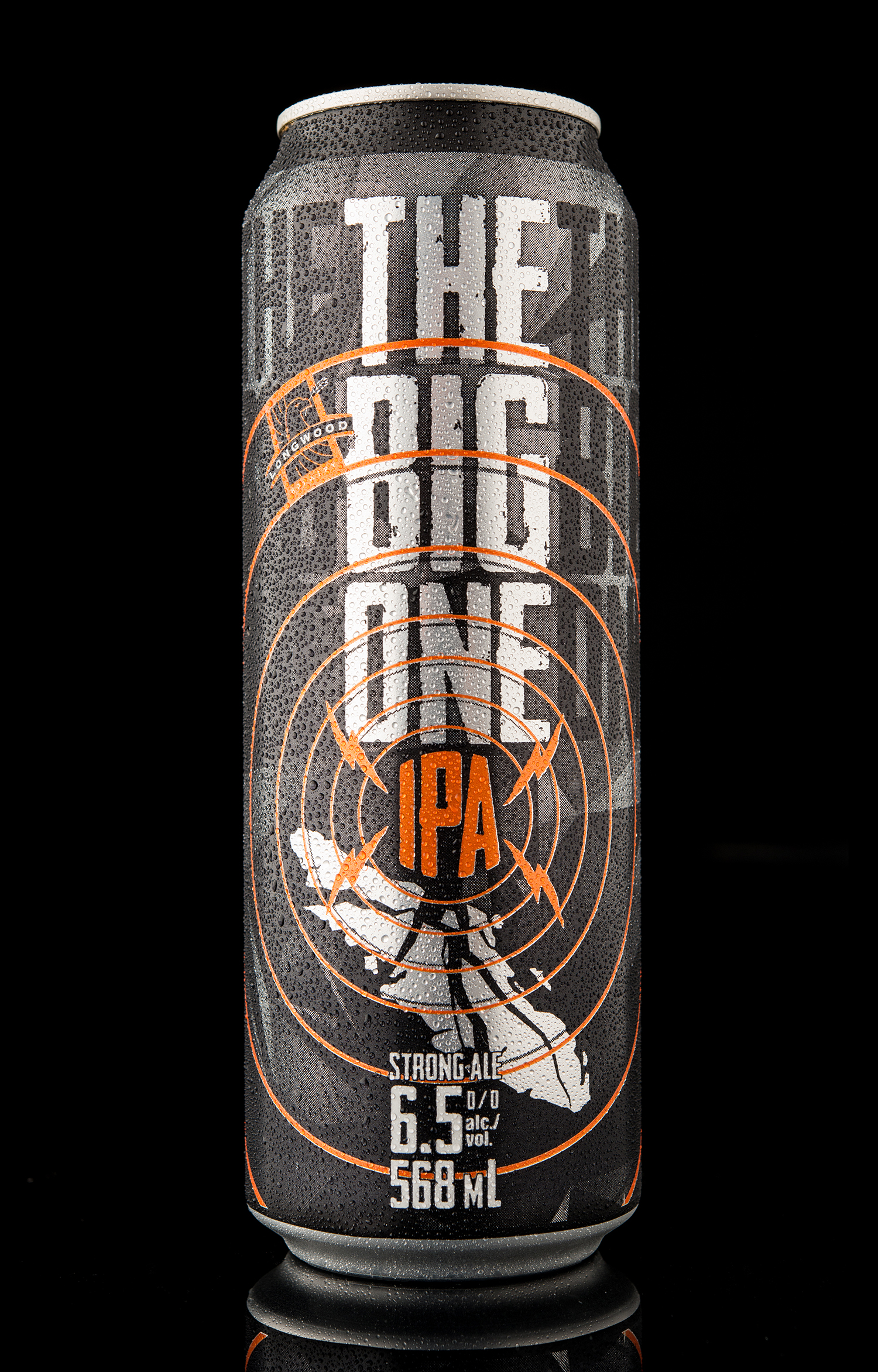Packaging Design for Longwood Brewery's The Big One IPA