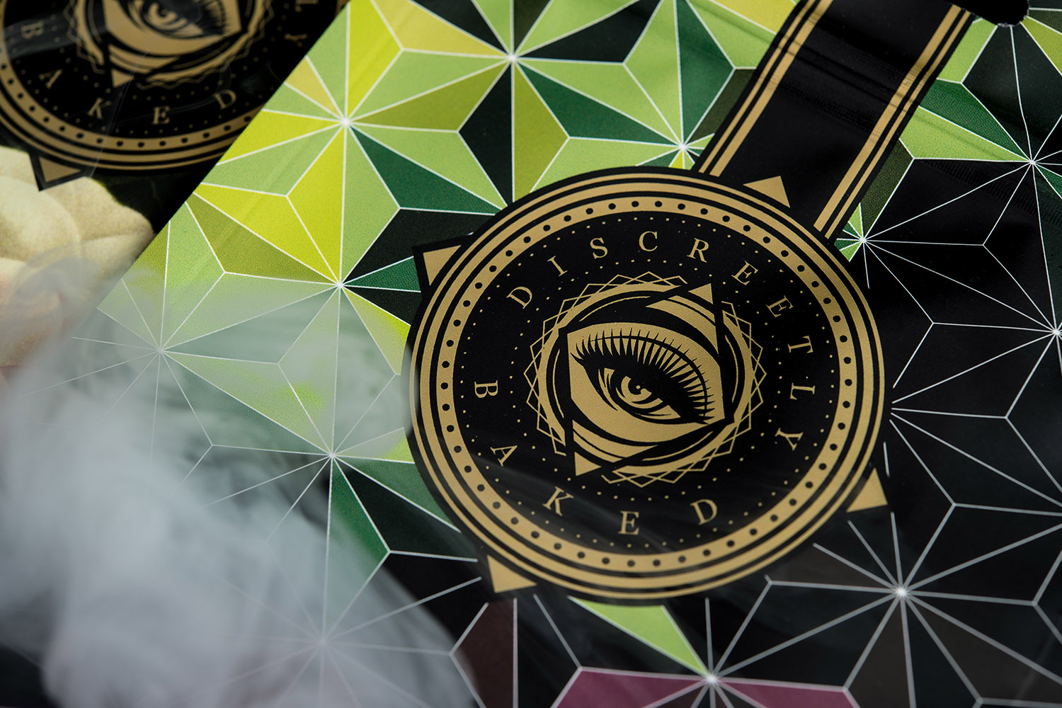 Branding and Packaging Design for Discreetly Baked Luxury Cannabis