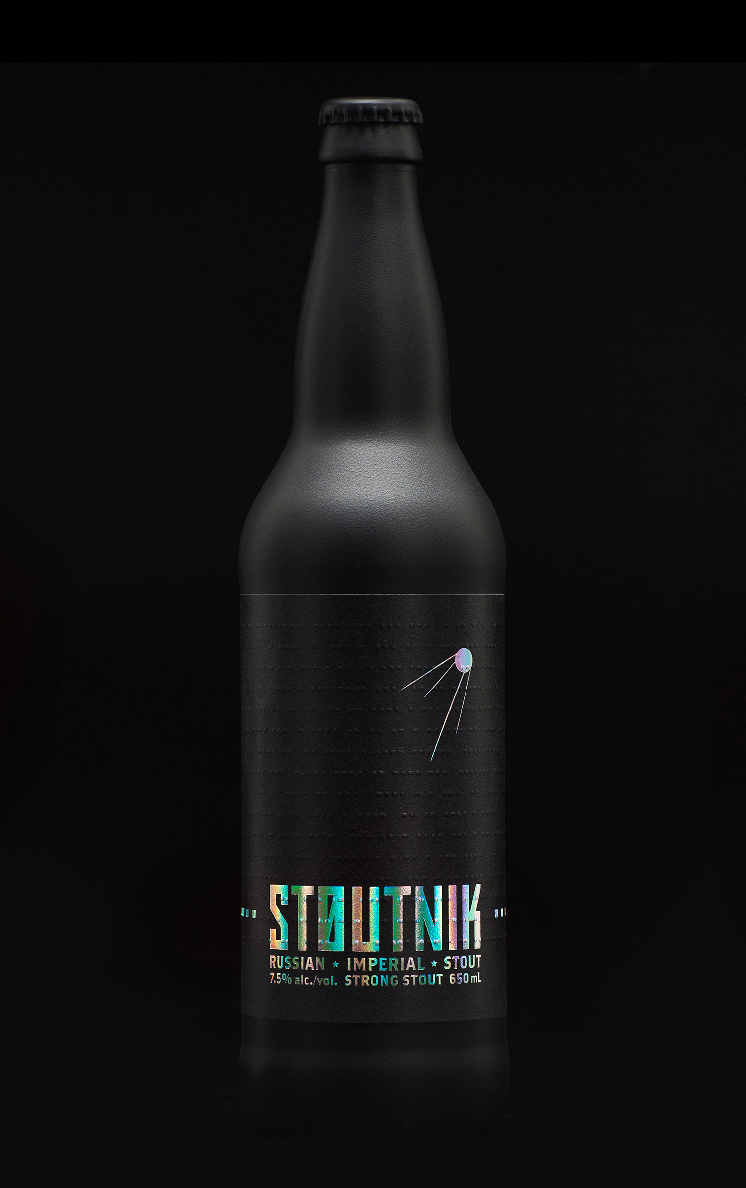 Packaging Design for Longwood Brewery's Stoutnik