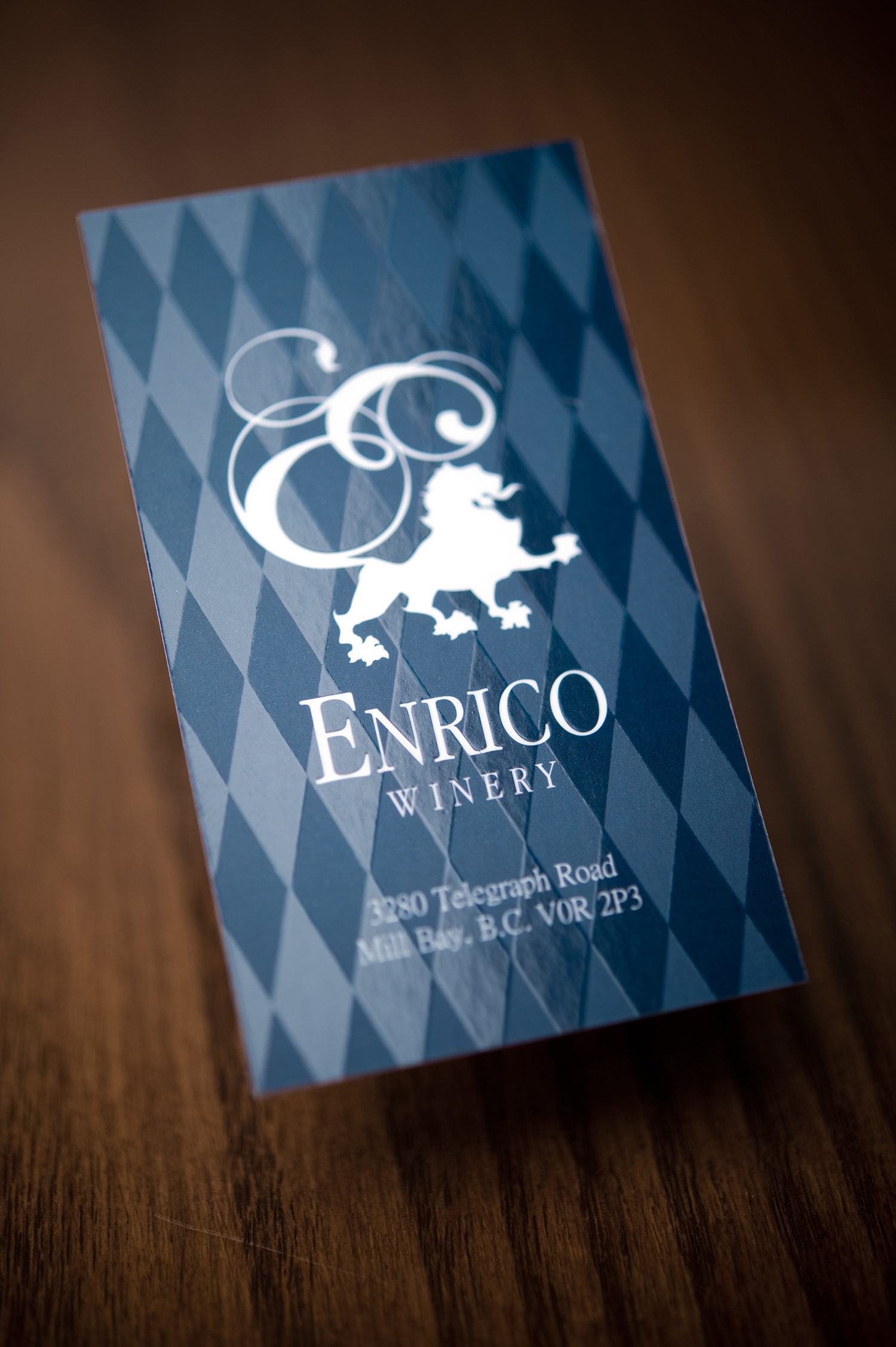 Enrico_BusinessCards (1 of 8).jpgPackaging and Branding Design for Enrico Winery