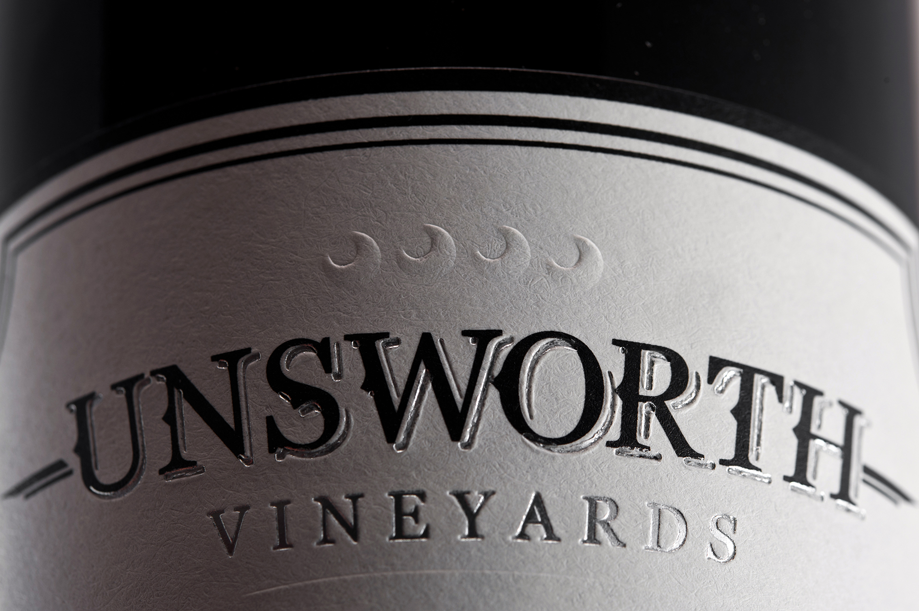 Branding and Packaging Design for Unsworth Vineyards