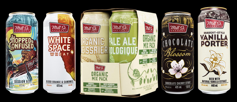 Mill Street Brewing Branding and Packaging 2018 Seasonal Releases