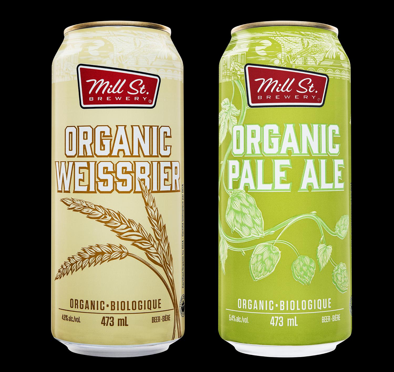 Mill Street Brewing Branding and Packaging 2018 Seasonal Release Organic Mix Pack