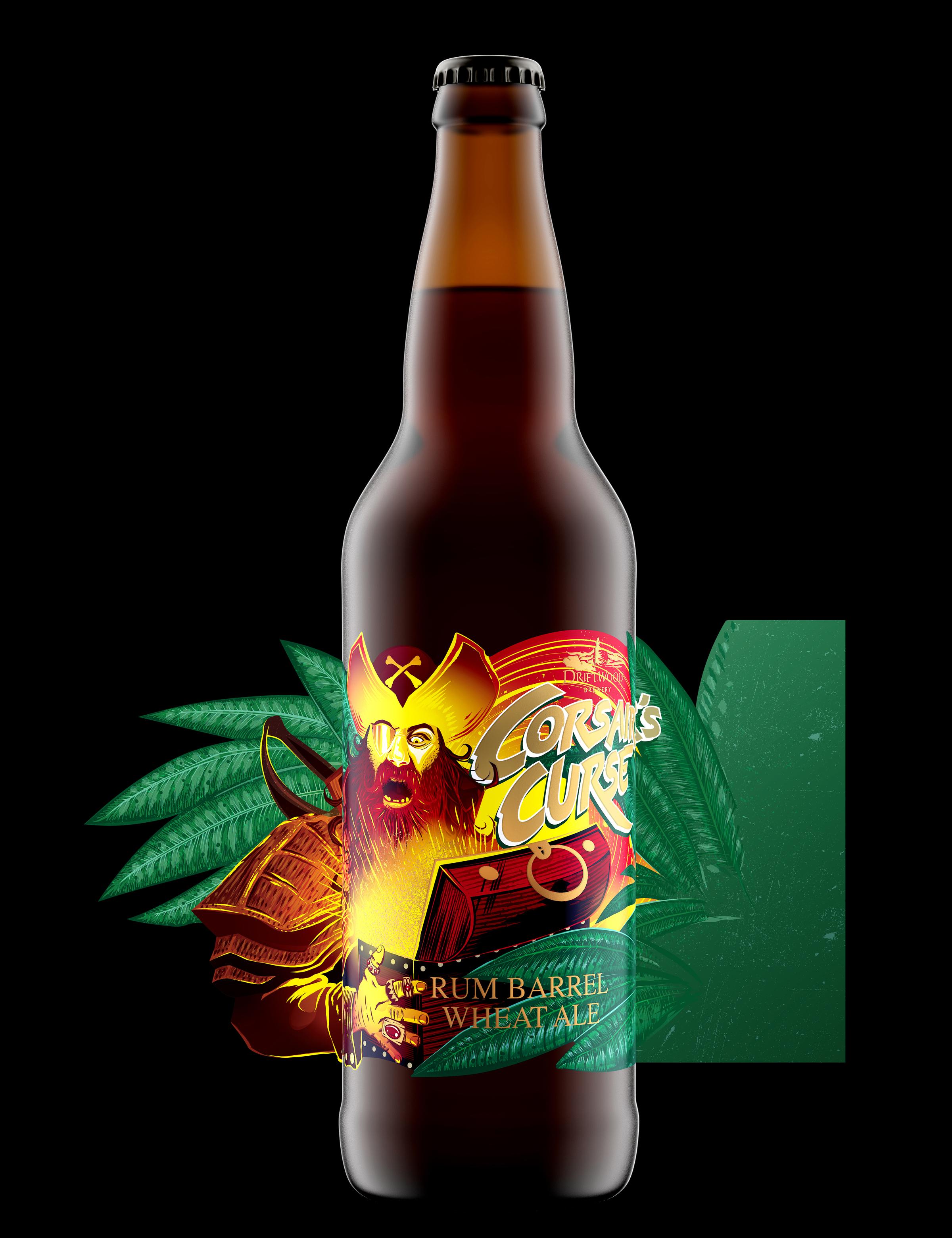 Corsair's Curse Rum Barrel Wheat Ale