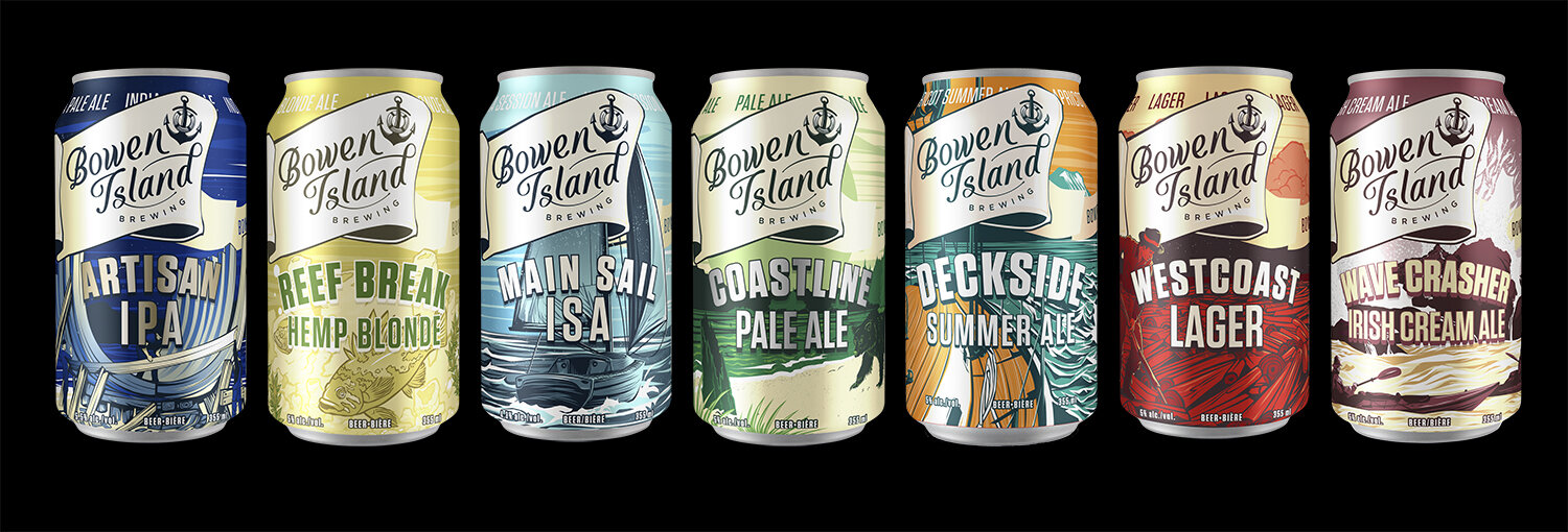 Branding+and+Packaging+Design+for+Bowen+Island+Brewing