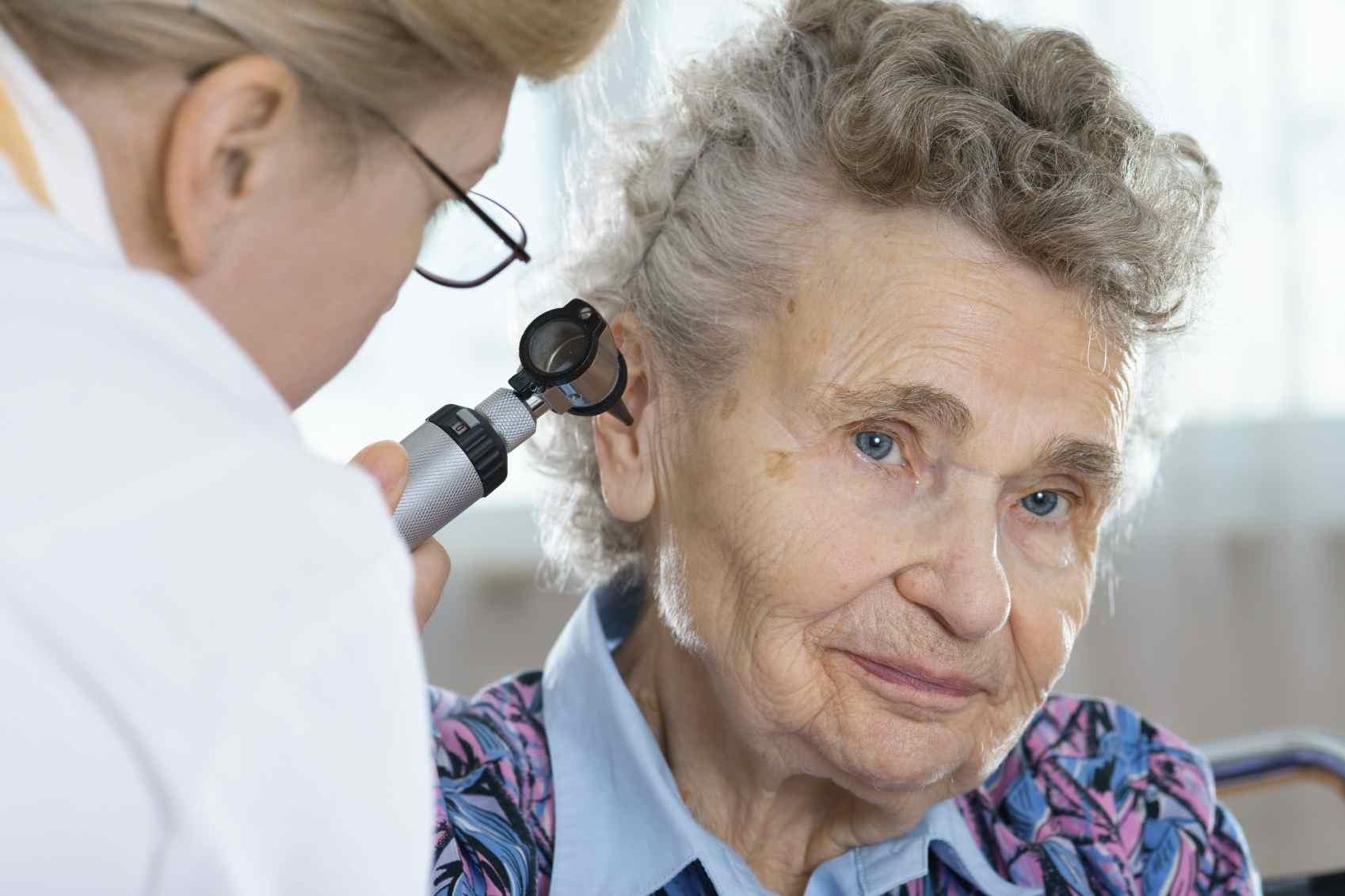 ENT ears checkup