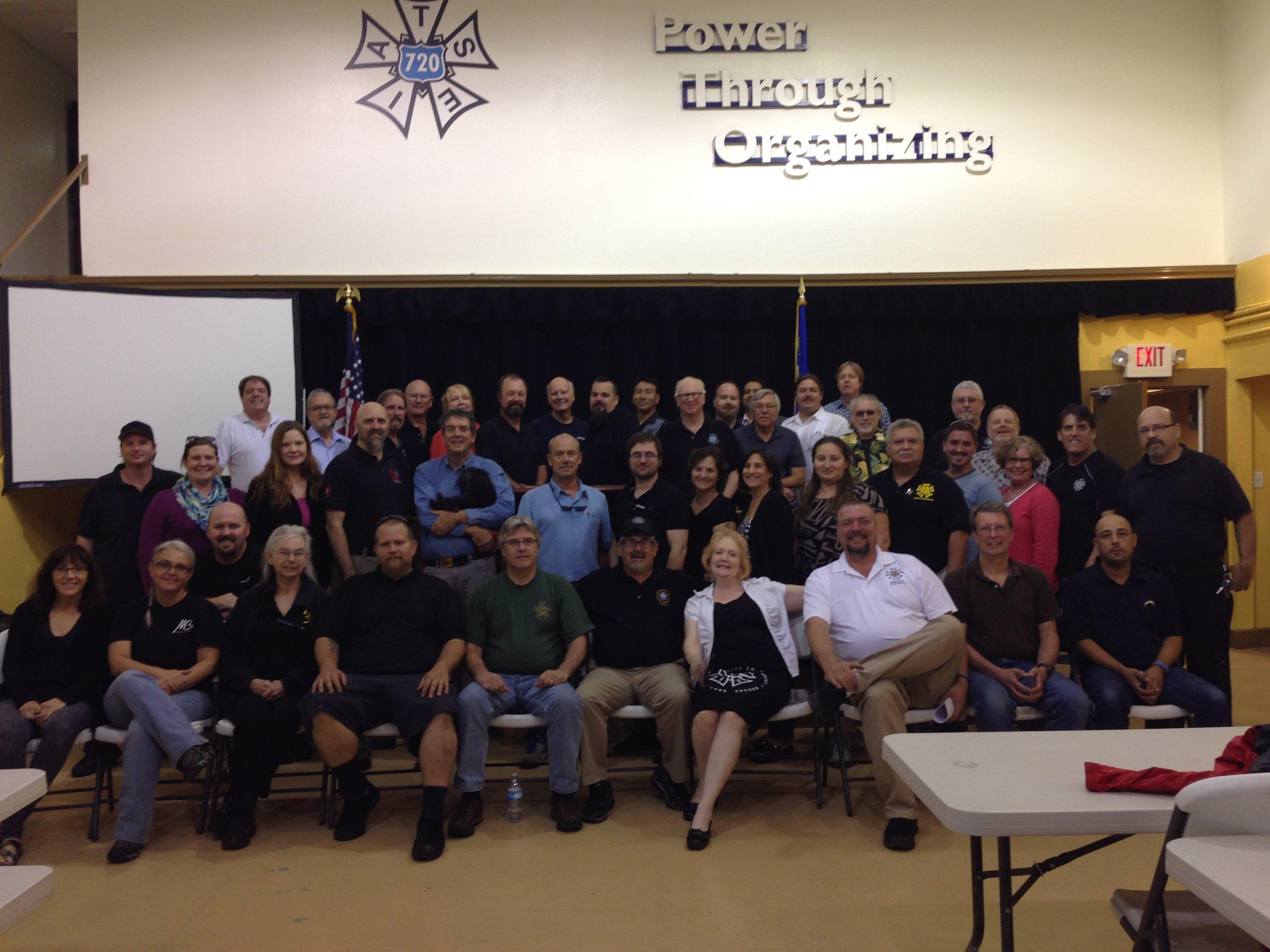 IATSE TTF Train the Trainer in Las Vegas, NV | September 19 & 20, 2015