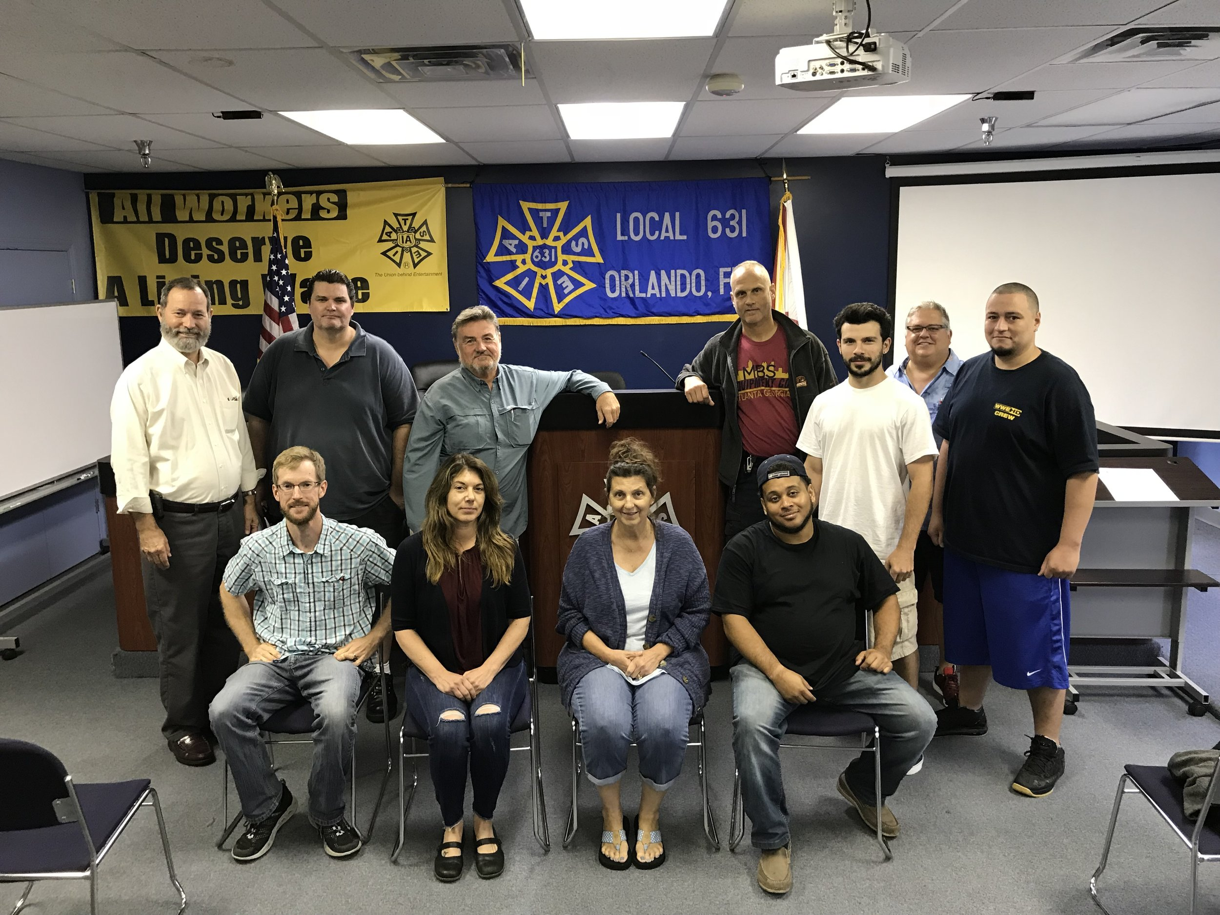 IATSE TTF OSHA 10/General Entertainment Safety in Orlando, FL | June 8-9, 2018