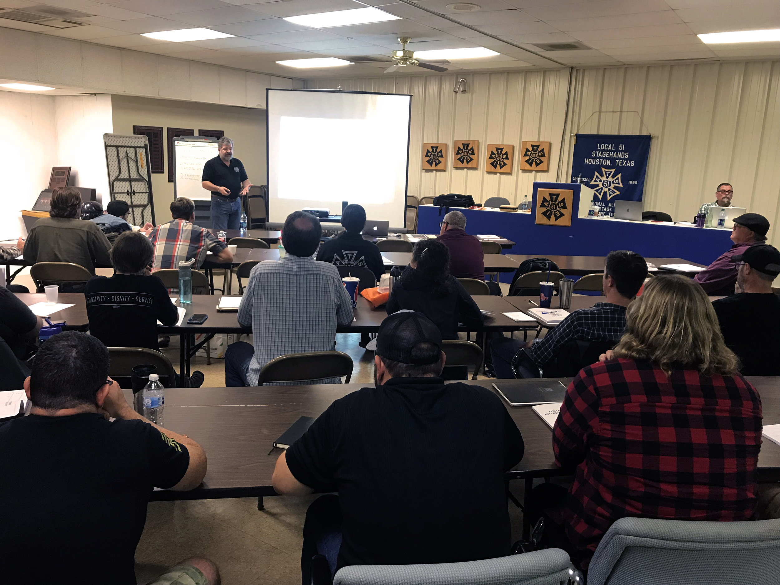 IATSE TTF OSHA 10/General Entertainment Safety in Houston, TX | November 17-18, 2018