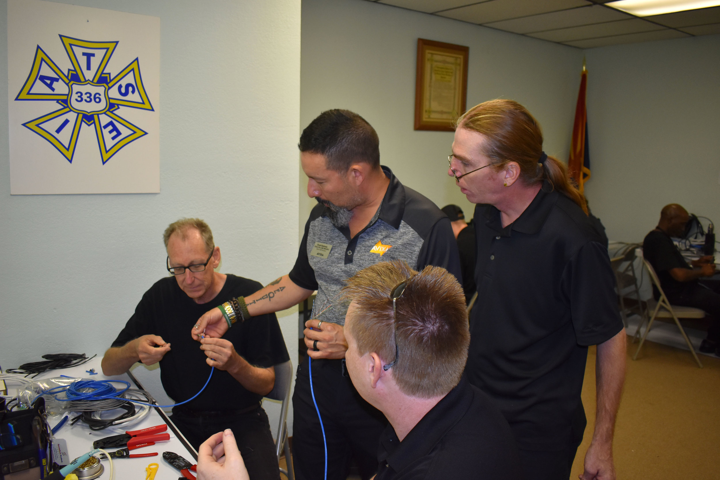 IATSE TTF Presents AVIXA Installation 1: Systems Fabrication in Phoenix, AZ | August 27-29, 2019