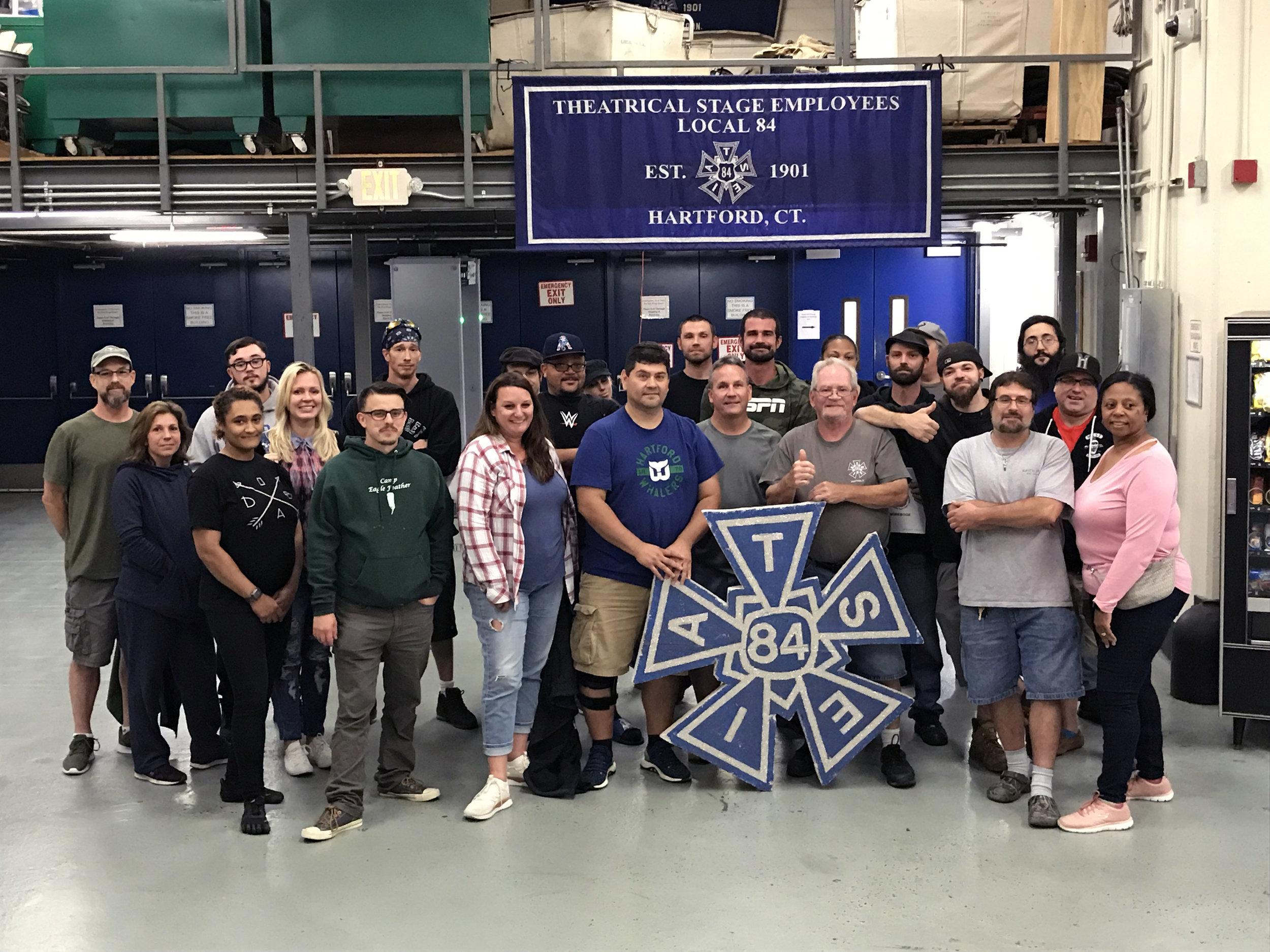 IATSE TTF OSHA 10/General Entertainment Safety in Hartford, CT | September 23-24, 2019