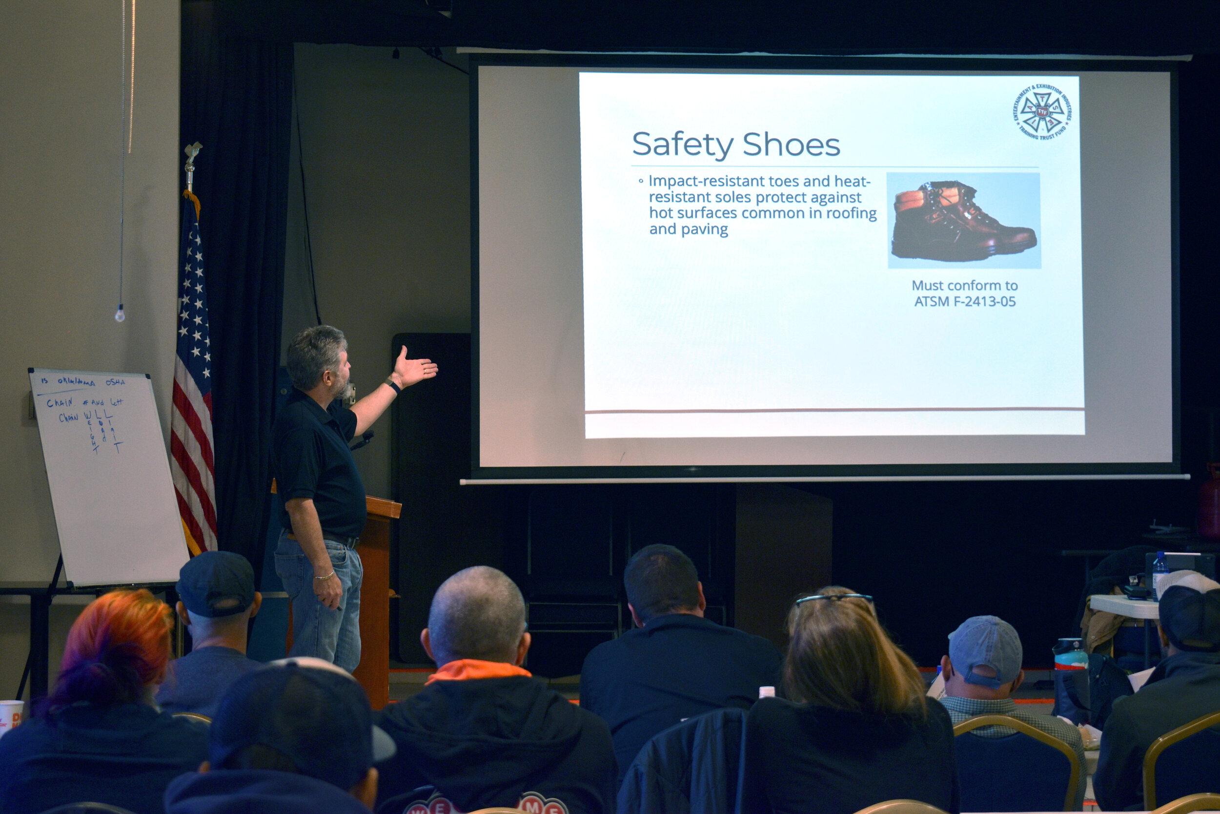 IATSE TTF OSHA 10/General Entertainment Safety in Santa Fe, NM | October 12-13, 2019
