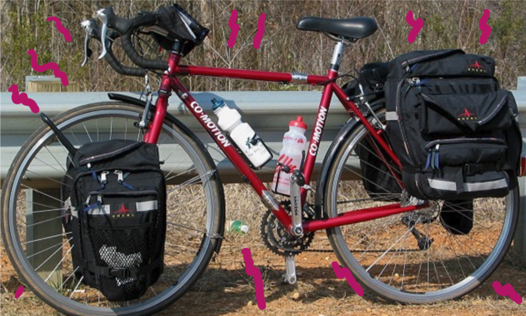Comotion bikes. A nice touring rig
