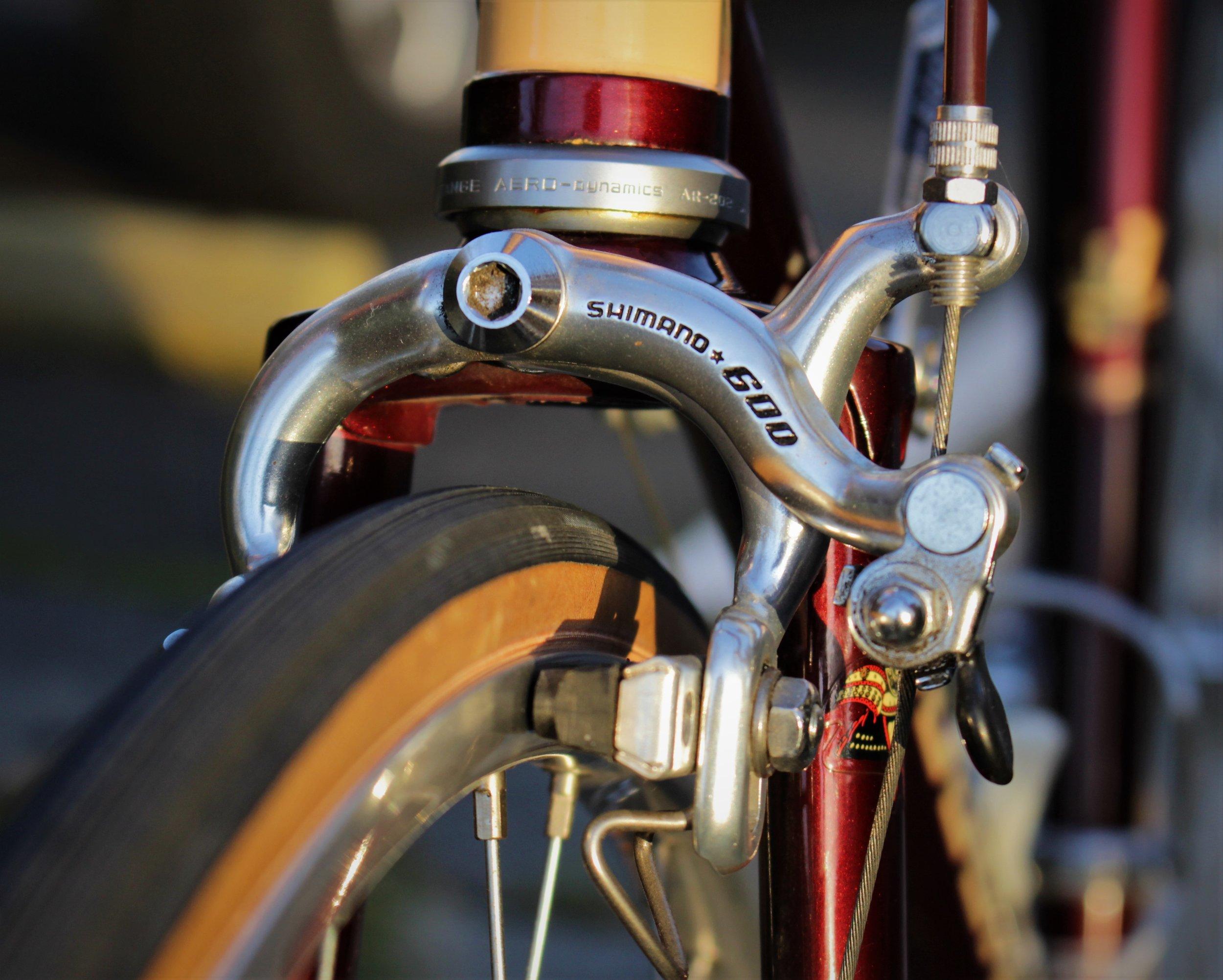 Shogun front brake.JPG