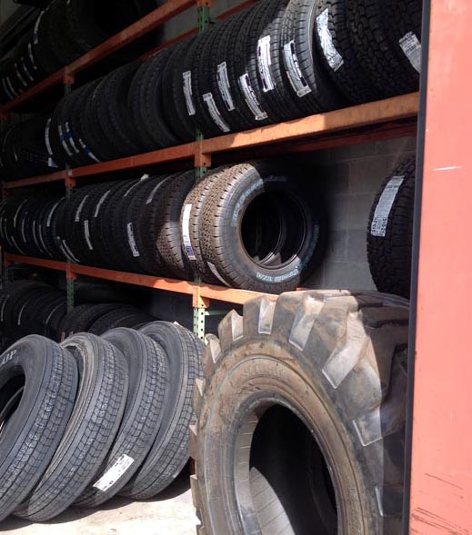 Truck Tires, Farm and Agricultural Tires, OTR Tires, New and Used.