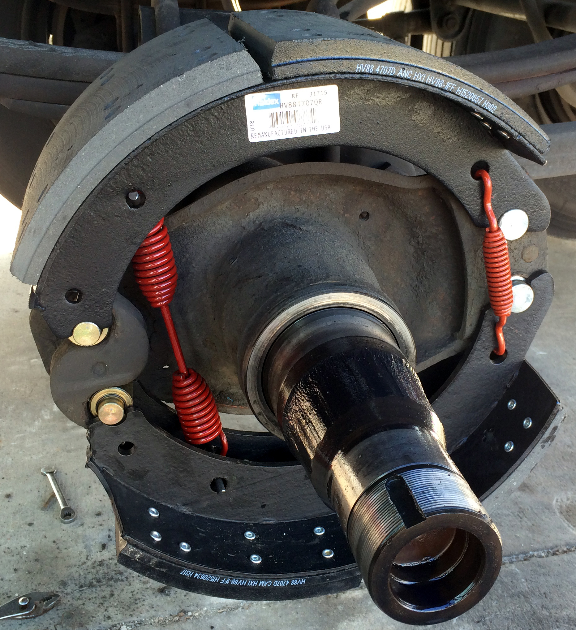 Truck and Trailer Drum Brakes