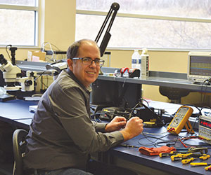 Matt Simms focuses on designing electronics-embedded products.