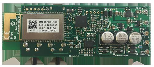Main pcb with microchip Bluetooth module
