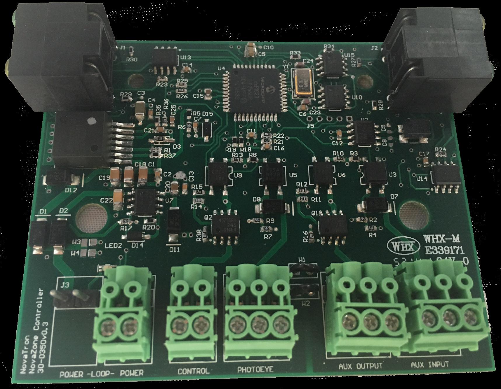 Main controller pcb