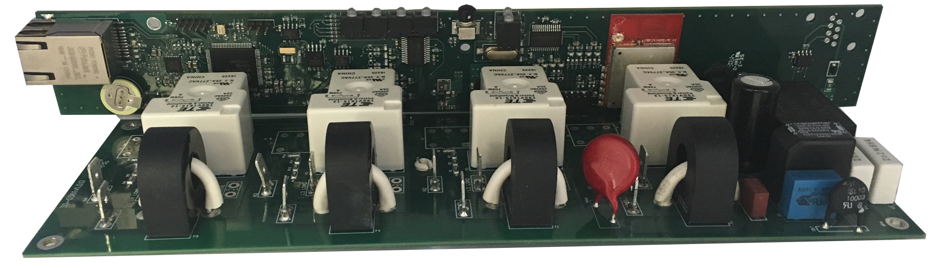 logic and power pcb