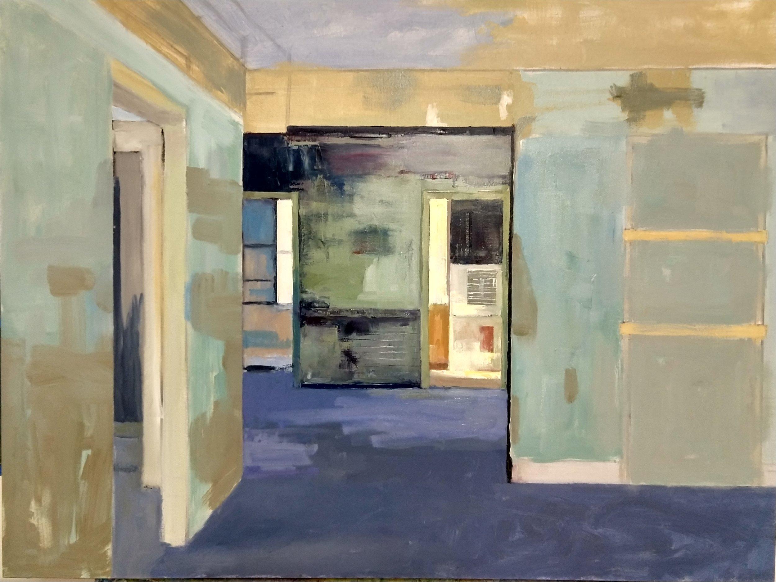 Interior with Four Doorways