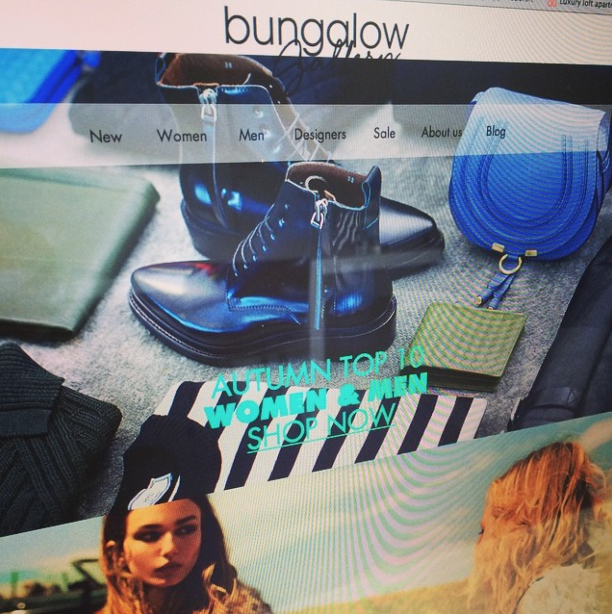 WERBEWELT Bungalow Gallery fashion Online Store