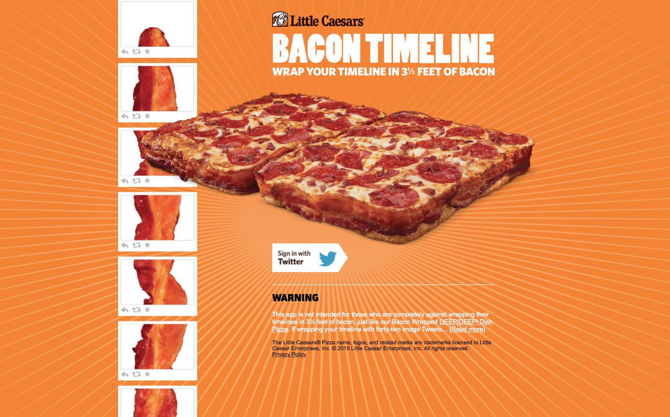 Bacon-Timeline
