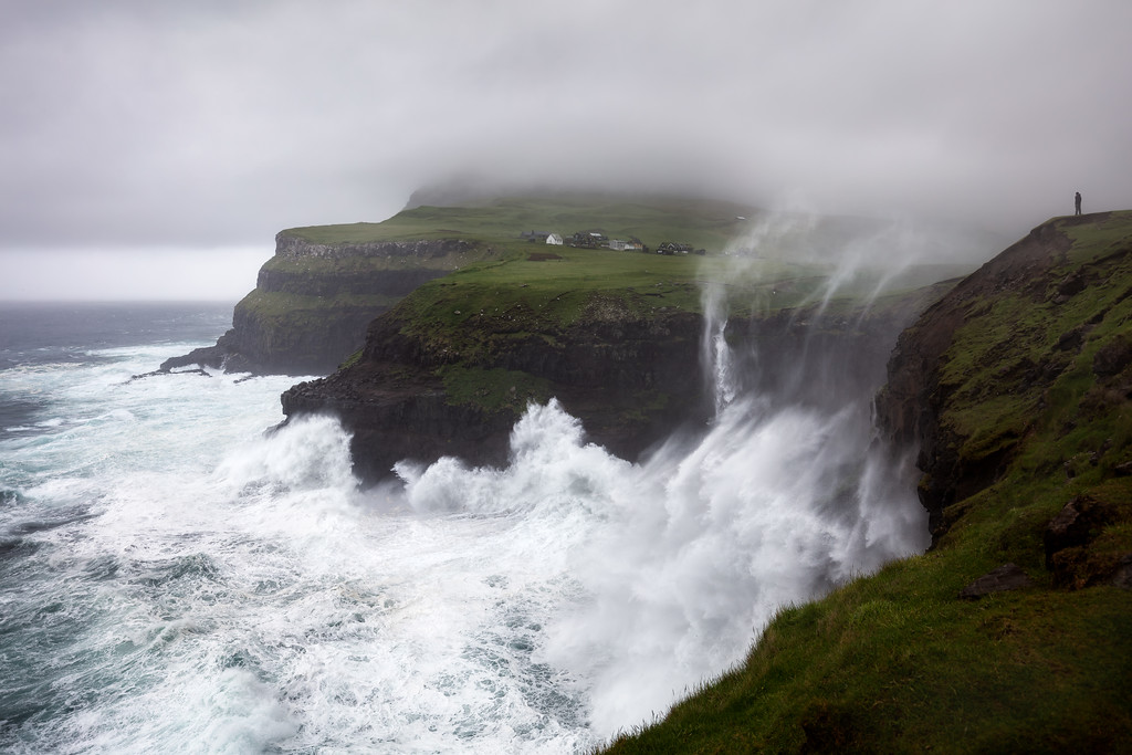 Stormy Seas and Dramatic Faroe Island conditions - all images by Mads Peter Iversen