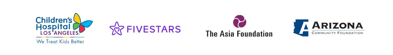 Children's Hospital, Five Stars, The Asia Foundation, The Arizona Foundation