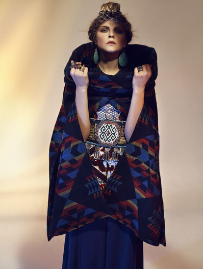 The most gorgeous pattern/textile/color mash-up in one F/W14 Collection. I can't get enough of this lookbook.