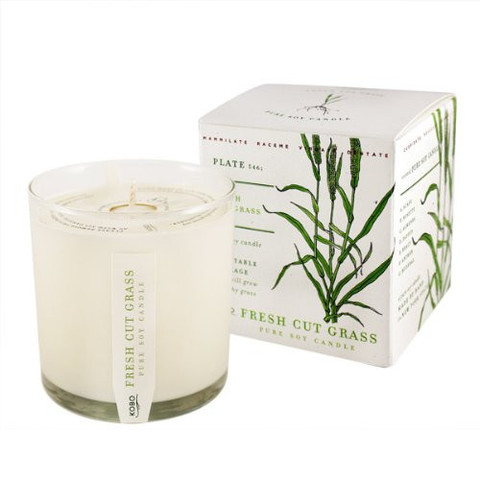 I love all the CANVAS HOME candles, but especially coveting the   Fresh Cut Grass   scent: