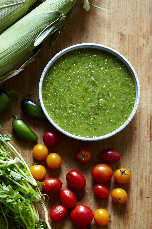 Tomatillo Salsa Verde (GF, V+)