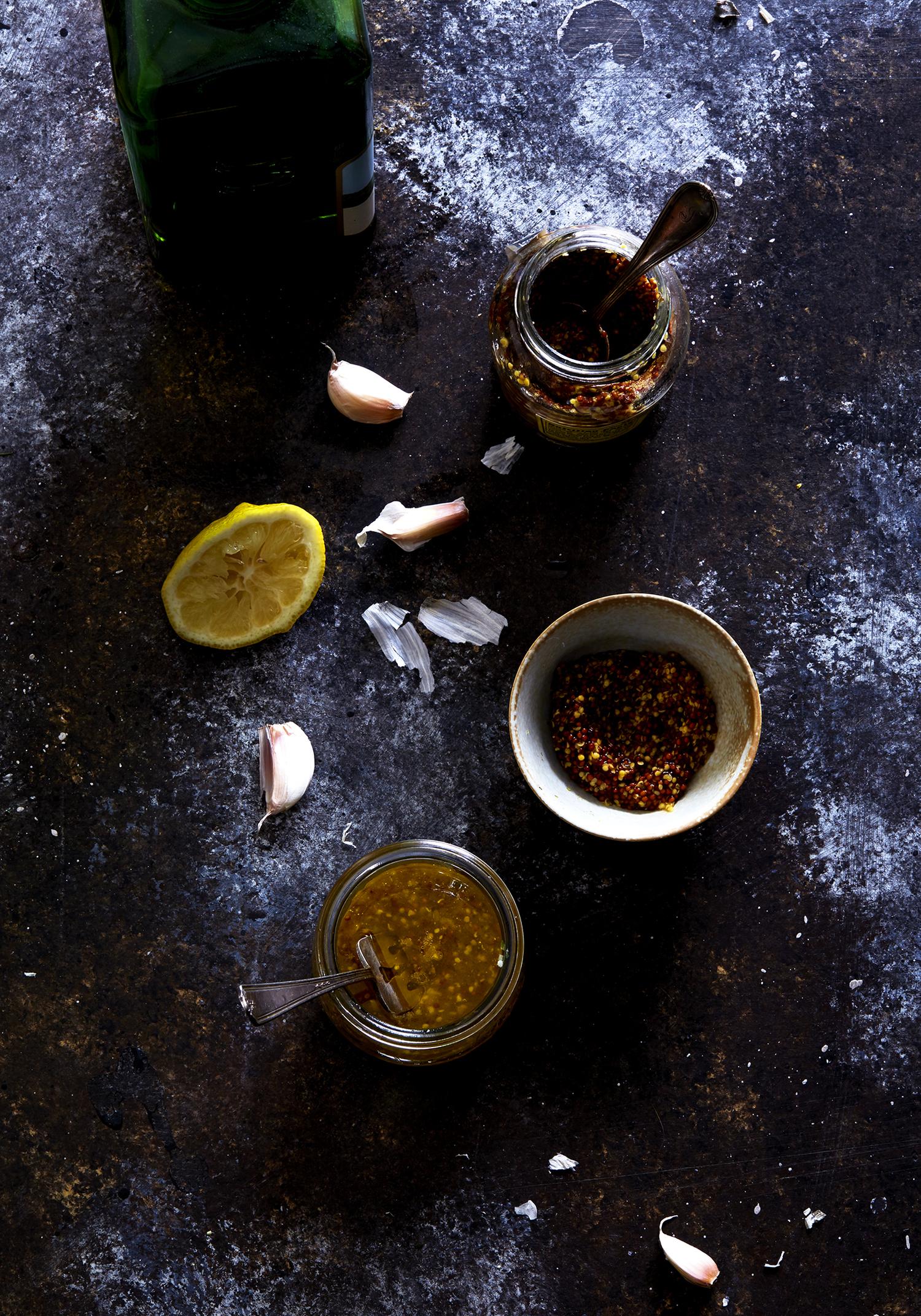 Tangy, Mustard Dressing (GF, V+)