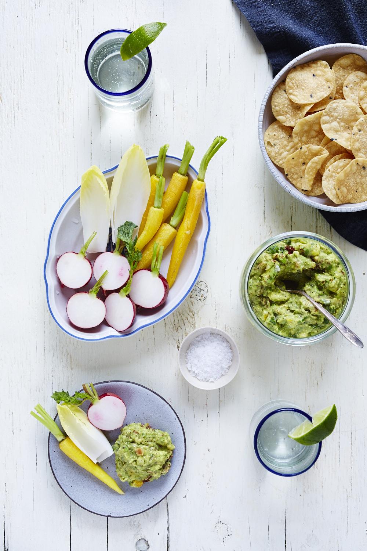 Grilled Lime & Sumac Guacamole (GF, V+)