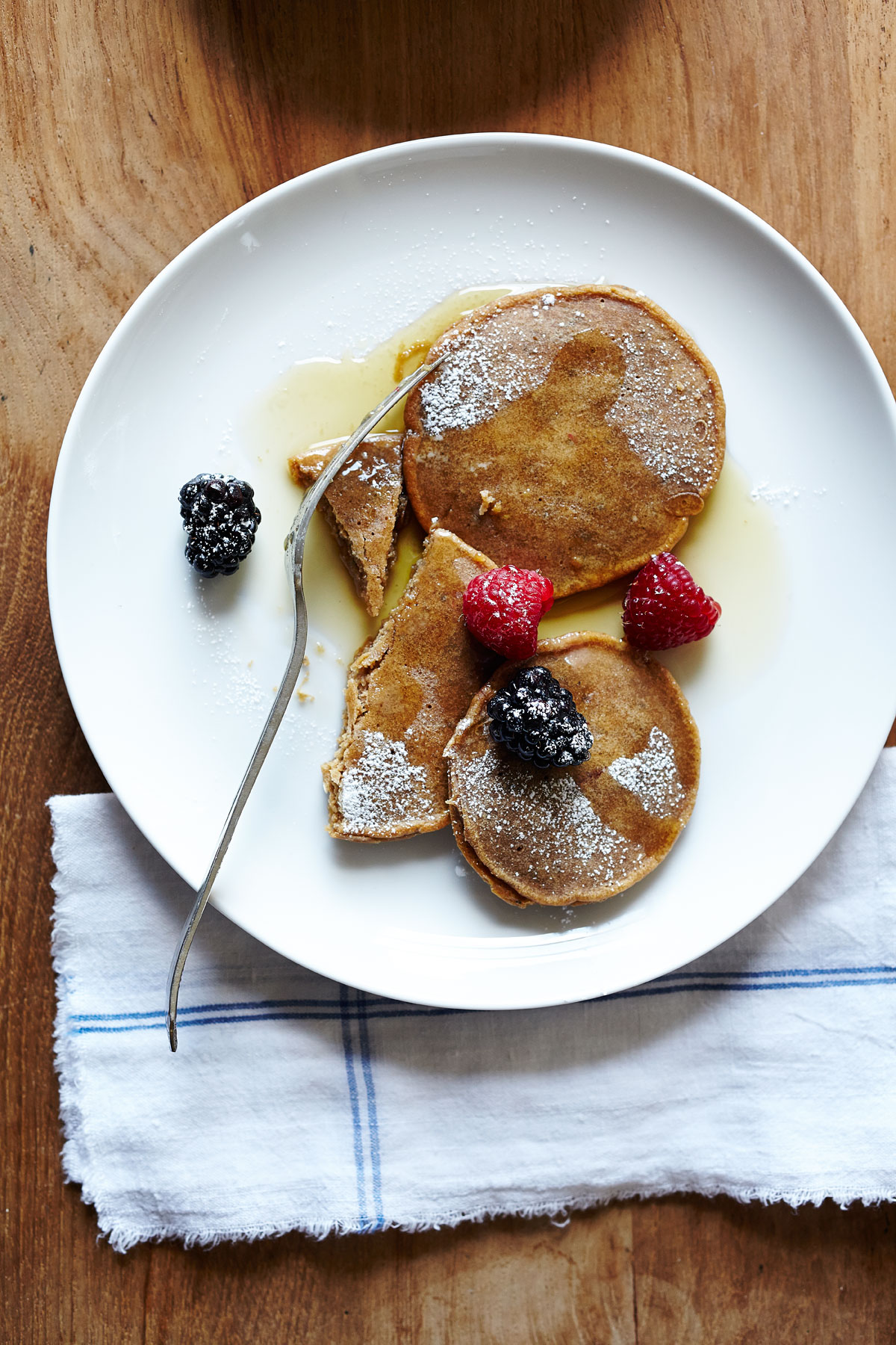 Chestnut Chia Pancakes (GF, V+)