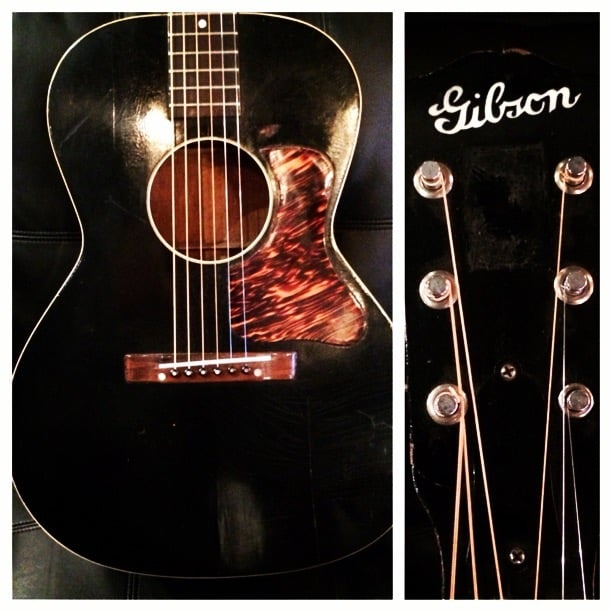 """1937 Gibson L-OO Used to Record """"I'll Fly Away"""" for the movie """"Greater"""""""