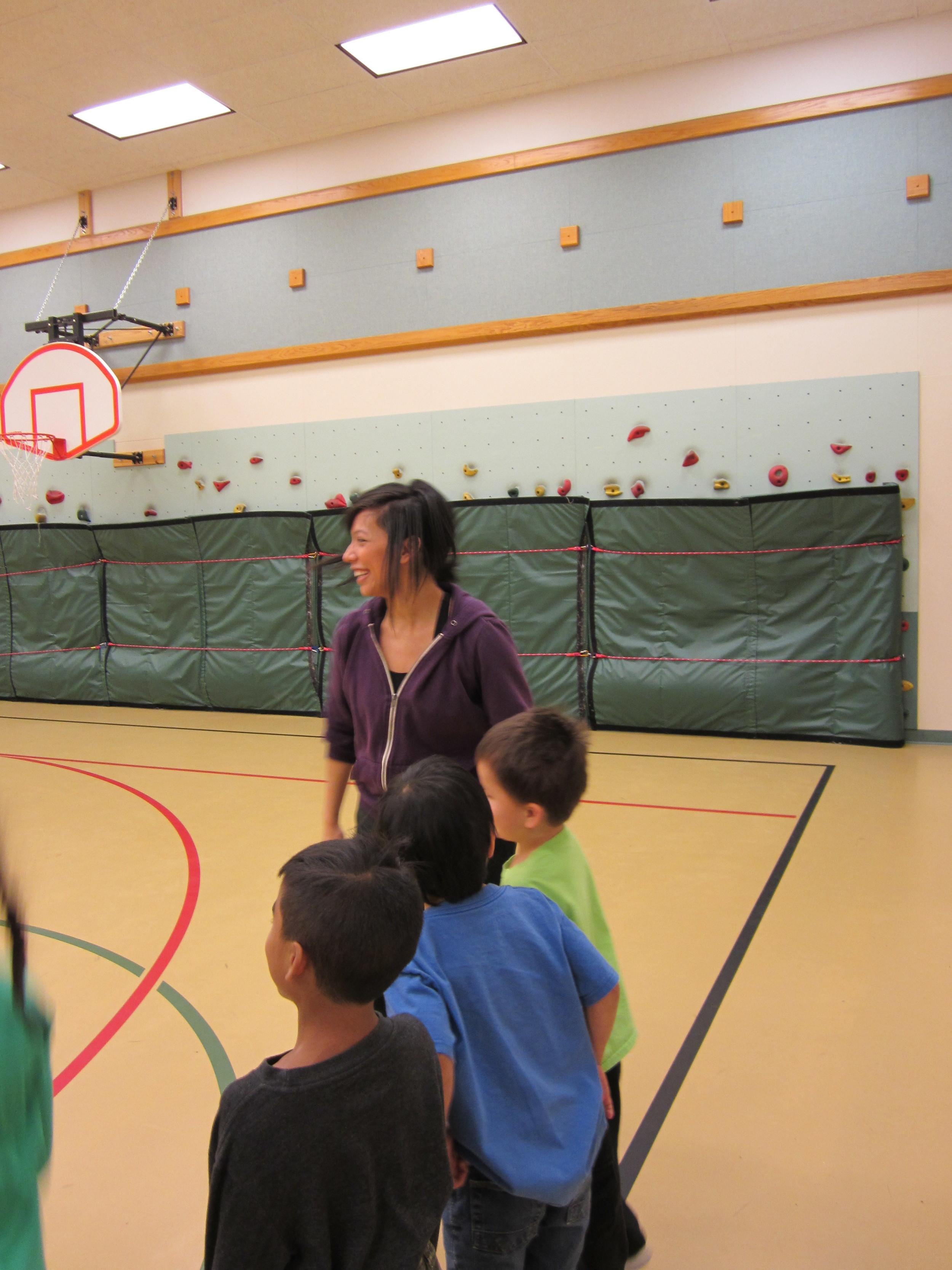 Irenerose at Ptarmigan Elementary