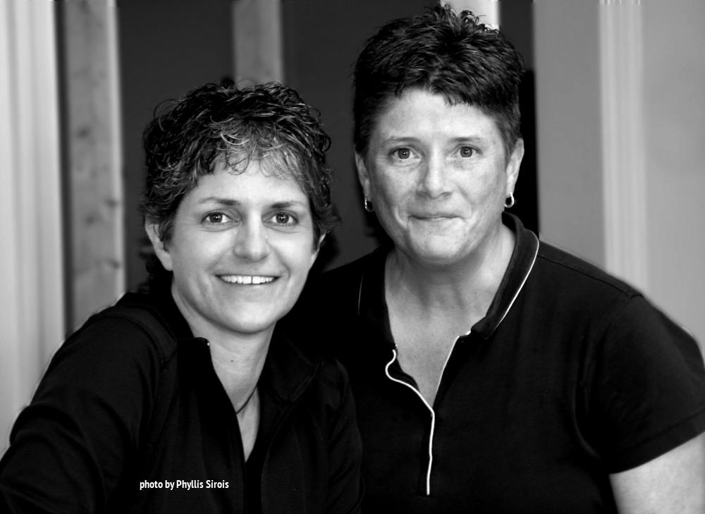 Dina Hall and Gail Lehman