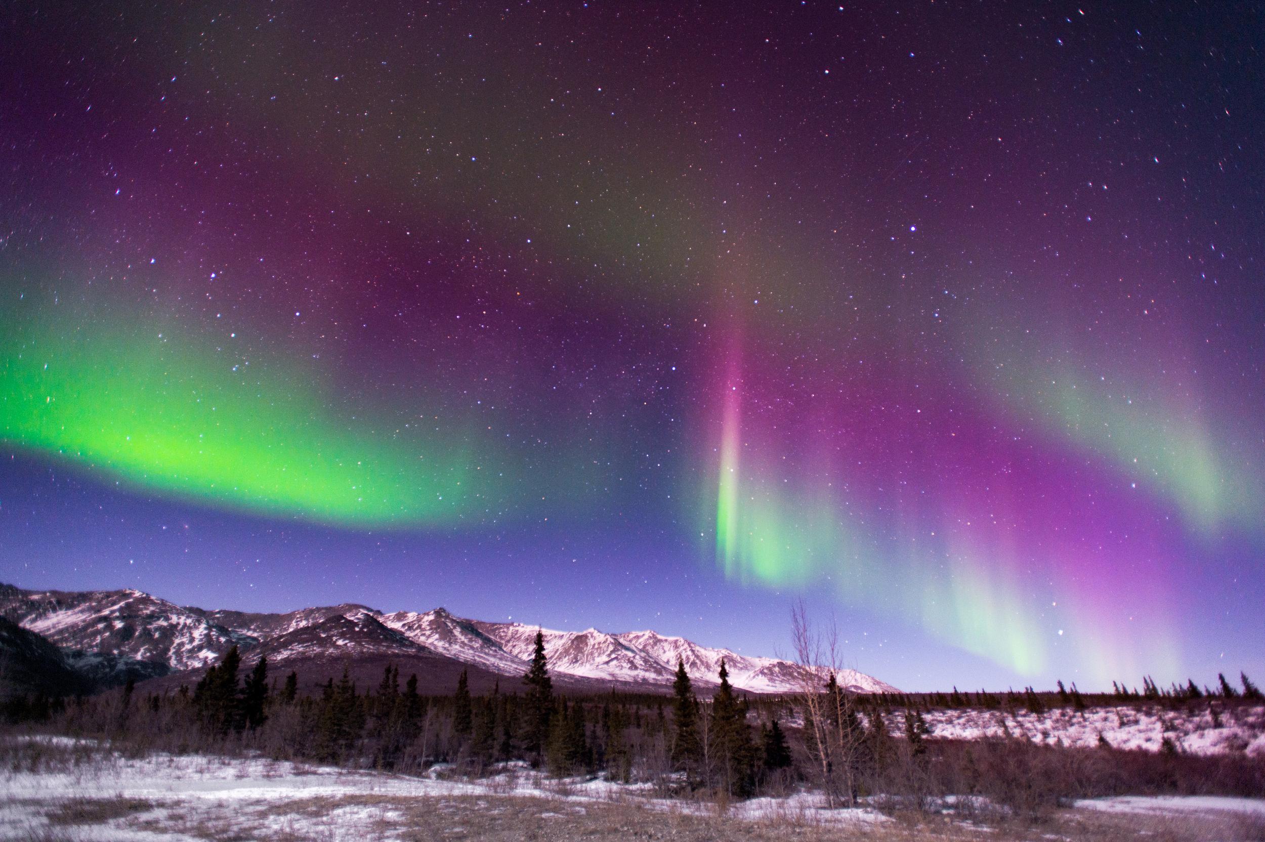 alaska northern lights tour and photo tour