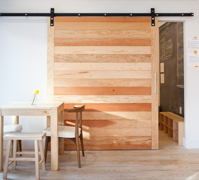 "-via Remodelista (apparently it closes off the ""children's play area"" in a restaurant - smart)"
