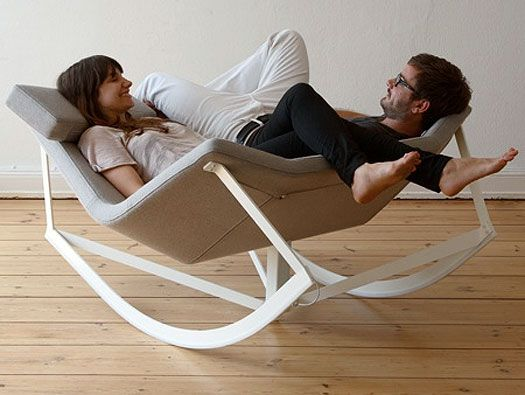 -Sway Rocking Chair by Markus Krauss, via homedit