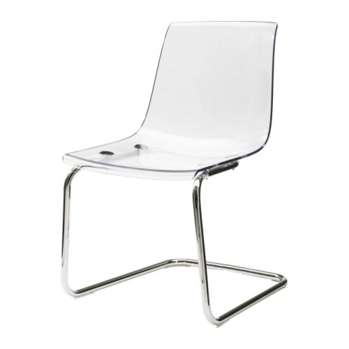 -TOBIAS Chair, Ikea - great modern (and very inexpensive) alternative to a ghost chair