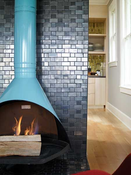 -via My Home Ideas, photo by Thomas J. Story / This is just beyond cool. Love the color.  Love the tile.