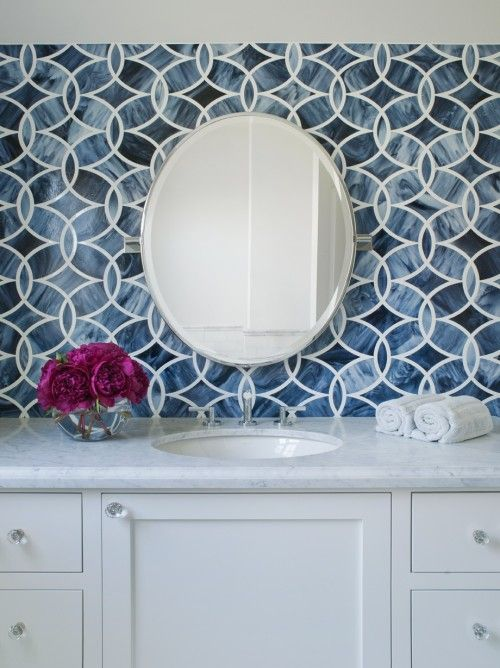 -tile by  Ann Sacks  / When it comes to tile, Ann Sacks knocks it out of the park every time.