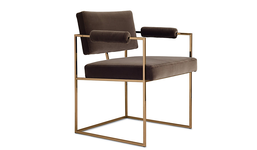 DWR - MILO BAUGHMAN 1188 CHAIR - these arms are probably too high, but i'm obsessed with this beauty and just had to include her.