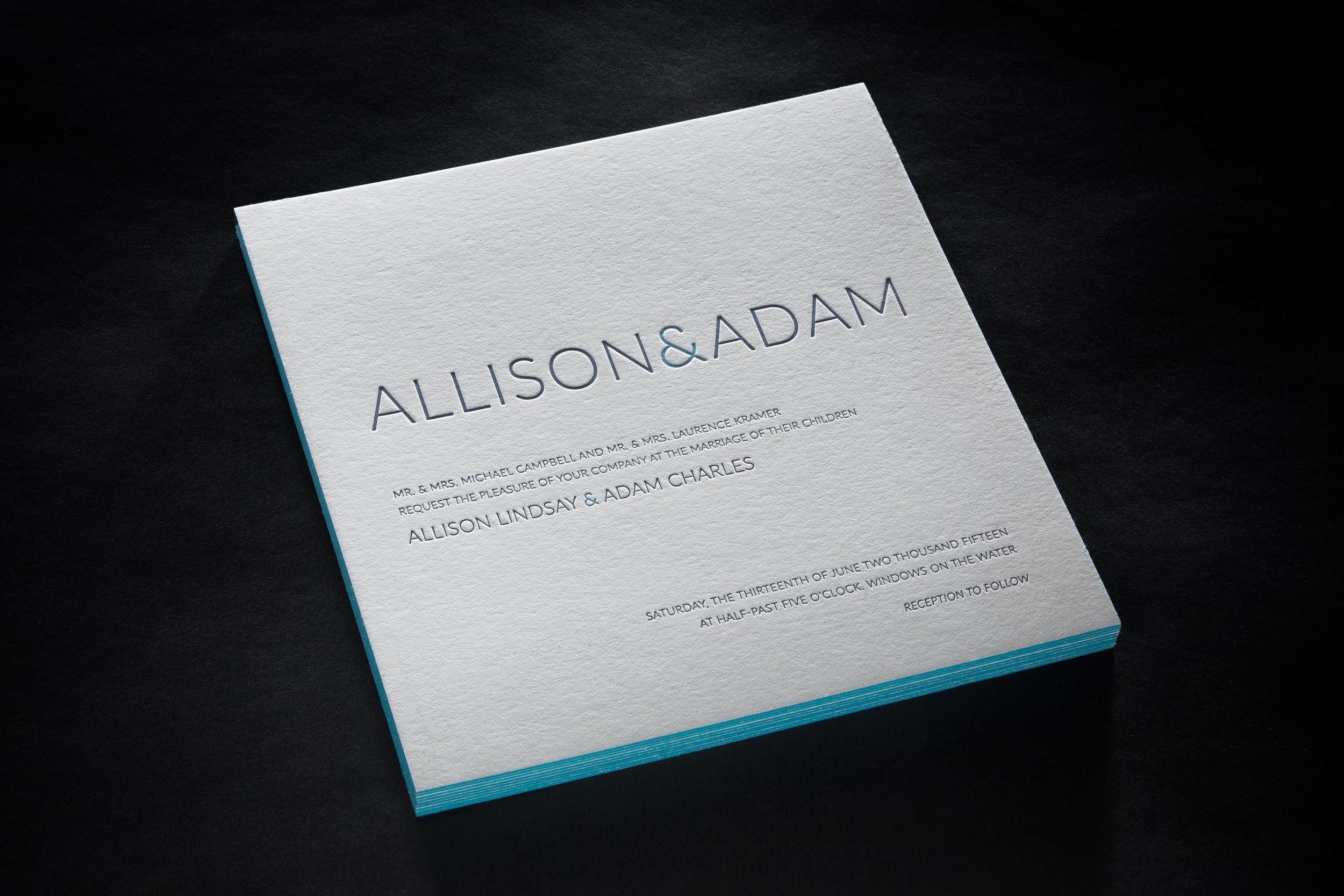 ALLISON & ADAM